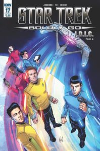 [Star Trek: Boldly Go #17 (Cover B Ossio) (Product Image)]