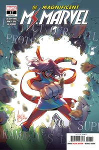 [Magnificent Ms Marvel #17 (Product Image)]
