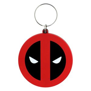 [Deadpool: Rubber Keychain: Symbol (Product Image)]