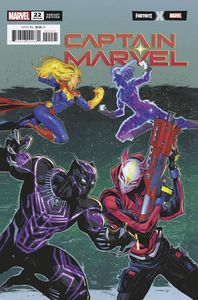 [Captain Marvel #22 (Coello Fortnite Variant) (Product Image)]