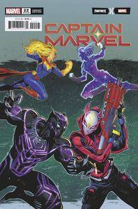 [Captain Marvel #22 (Coello Fortnite Variant) (Product Image)]