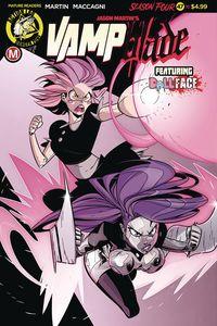 [Vampblade: Season 4 #10 (Cover A Maccagni) (Product Image)]
