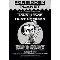 [John Dowie and Hunt Emerson signing (Product Image)]