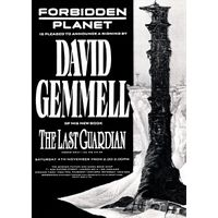 [David Gemmell Signing The Last Guardian (Product Image)]