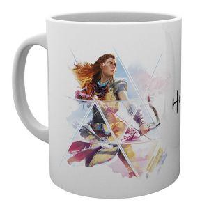 [Horizon Zero Dawn: Mug: Alloy With Bow (Product Image)]