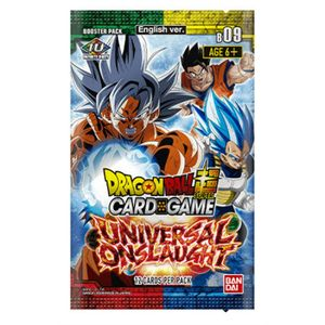 [Dragon Ball Super: Booster Pack: Universal Onslaught (Product Image)]