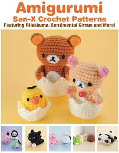 [Amigurumi: San-X Crochet Patterns (Product Image)]