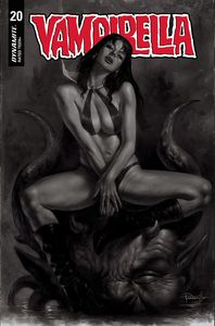 [Vampirella #20 (Parrillo Black & White Variant) (Product Image)]