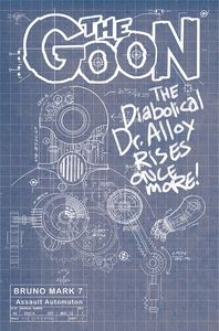 [Goon #13 (Cover B Cardstock Bruno Blueprint) (Product Image)]