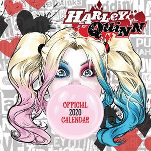 [Harley Quinn: Square Calendar: 2020 (Product Image)]
