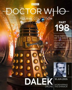 [Doctor Who Figurine Collection #198: Dalek Parting Of The Ways (Product Image)]