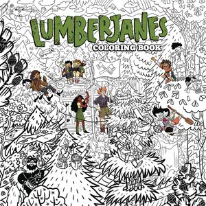 [Lumberjanes: Colouring Book (Product Image)]