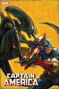 [Captain America #27 (Shavrin Marvel Vs Alien Variant) (Product Image)]
