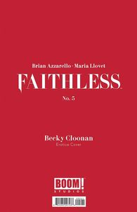 [Faithless #5 (Cover B Erotica Cloonan Variant) (Product Image)]