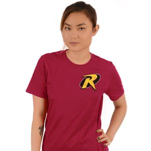 [DC: Batman: T-Shirt: Robin Logo (Product Image)]