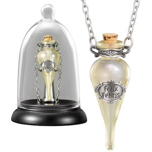 [Harry Potter: Felix Felicis Pendant & Display (Product Image)]