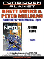 [Brett Ewins and Peter Milligan Signing Johnny Nemo (Product Image)]