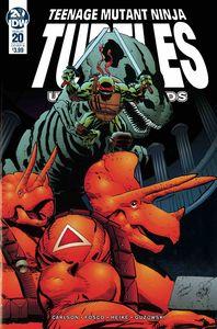 [Teenage Mutant Ninja Turtles: Urban Legends #20 (Cover B Fosco & Larsen) (Product Image)]