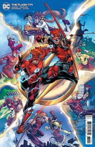 [The Flash #771 (Brett Booth Cardstock Variant) (Product Image)]