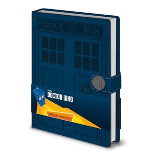 [Doctor Who: Premium A5 Notebook (Product Image)]