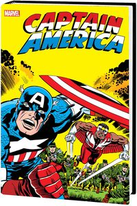 [Captain America By Jack Kirby: Omnibus (New Printing Dm Variant Hardcover) (Product Image)]