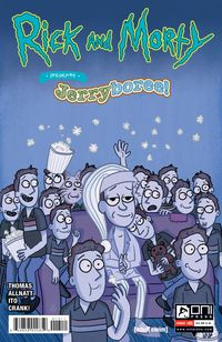 [The cover for Rick & Morty Presents: Jerryboree #1 (Cover A Allnatt)]
