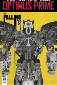 [Optimus Prime #20 (Cover B Coller) (Product Image)]