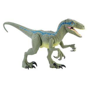 [Jurassic World: Action Figure: Super Colossal Velociraptor Blue (Product Image)]