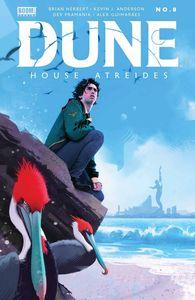 [Dune: House Atreides #8 (Cover B Dekal) (Product Image)]