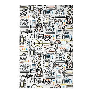 [Friends: Tea Towel: Iconic Quotes (Product Image)]