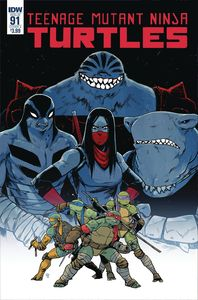[Teenage Mutant Ninja Turtles: Ongoing #91 (Cover A Dialynas) (Product Image)]