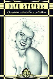 [Dave Stevens' Complete Sketchbook Collection (Hardcover) (Product Image)]
