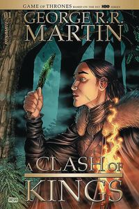 [The cover for George R.R. Martin's A Clash Of Kings #1 (Cover A Miller)]