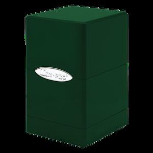 [Deck Box: Hi-Gloss Emerald Green Satin Tower (Product Image)]