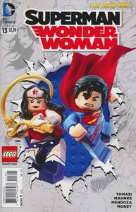 [Superman/Wonder Woman #13 (Lego Variant Edition) (Product Image)]
