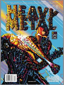 [Heavy Metal #295 (Cover E Pyle) (Product Image)]