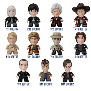 [Doctor Who: TITANS: 50th Anniversary: All 11 Doctors (Complete Display) (Product Image)]