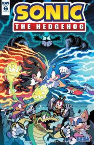 [Sonic The Hedgehog #6 (Cover A Gray) (Product Image)]