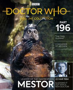 [Doctor Who Figurine Collection #196: Mestor (Product Image)]
