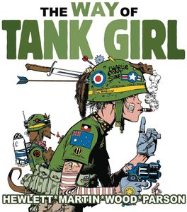 [The Way Of Tank Girl (Hardcover) (Product Image)]