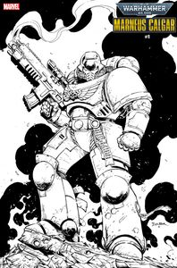 [Warhammer 40K: Marneus Calgar #1 (Colour Your Own Variant) (Product Image)]
