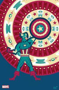 [Captain America #25 (Veregge Captain America Variant) (Product Image)]