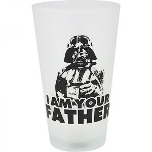[Star Wars: Large Glass: I Am Your Father (Product Image)]
