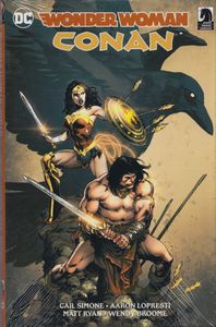 [Wonder Woman/Conan (Hardcover) (Product Image)]