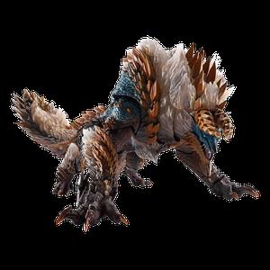 [Monster Hunter World: Iceborne: S.H. Monsterarts Action Figure: Thunder Wolf Wyvern Zinogre (Product Image)]