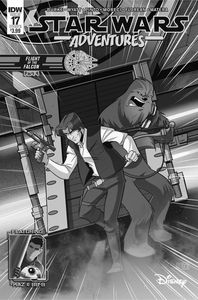 [Star Wars Adventures #17 (Cover B Florean) (Product Image)]