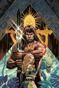 [Cimmerian Red Nails #1 (Cover B Steve Morris) (Product Image)]