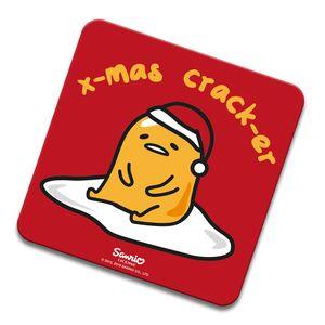 [Gudetama: Coaster: Xmas Crack-er (Product Image)]