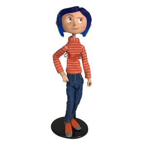 [Coraline: Action Figure: Coraline In Striped Shirt & Jeans (Product Image)]