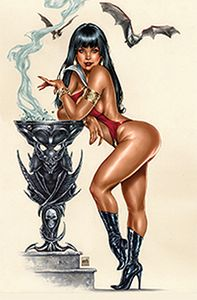 [Vampirella: 1992 (One Shot Krome Virgin Variant) (Product Image)]